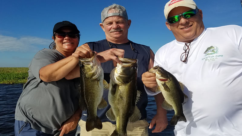 Two Awesome Lake Okeechobee Fishing Days at Slims Fish Camp